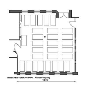Mittlerer Seminarraum (108m²)